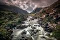 Картинка пейзаж, горы, природа, река