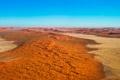 Картинка Намибия, горизонт, небо, дюны, песок, пустыня, Виндхук