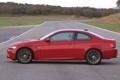 Картинка Красный, Авто, Дорога, BMW, Асфальт, БМВ, Вид сбоку