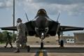 Картинка ВВС США, Lightning II, F-35, Истребителей-бомбардировщик