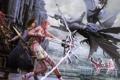 Картинка оружие, меч, лук, клинок, noel, ffxiii-2, final fantasy xiii-2