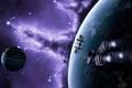 Картинка космос, корабли, far haven