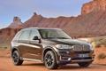 Картинка небо, горы, скалы, пустыня, BMW, автомобиль, xDrive50i