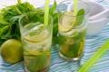 Картинка ice, коктейль, lime, cocktail, mojito, drink, mint