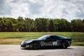 Картинка черный, шевролет корвет, chevrolet corvette z06, autowallpaper