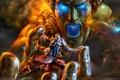 Картинка Крик, Кратос, God of War 2, Бог Войны, Колосс Родосский, God of War II