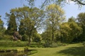 Картинка деревья, природа, парк, фото, газон