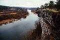 Картинка скала, река, Arkansas