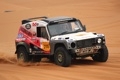 Картинка Песок, Спорт, Пустыня, Машина, Гонка, Land Rover, Rally