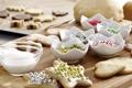 Картинка звезды, печенье, выпечка, тесто, новогоднее, формочки, присыпка
