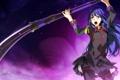 Картинка Female, Single, Weapon, Game CG, Soushuu Senshinkan Gakuen Hachimyoujin, G Yuusuke, Gadou Rinko