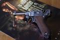 Картинка пистолет, оружие, Luger