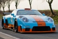 Картинка дорога, 911, Porsche, суперкар, Порше, tuning, передок.тюнинг