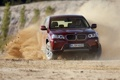 Картинка BMW, занос, грязь, бездорожье
