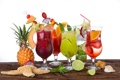 Картинка summer, fresh, коктейли, fruit, drink, tropical, cocktails