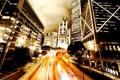 Картинка дорога, свет, ночь, огни, фото, люди, страны