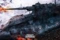 Картинка выстрел, танк, tanks, CryEngine, mail.ru, Armored Warfare, Obsidian Entertainment