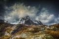 Картинка снег, гора, Flakstad Lofoten islands, Parti fra Nusfjord