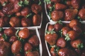 Картинка клубника, много, ягоды
