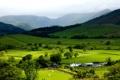 Картинка зелень, горы, природа, холмы, долина