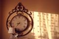 Картинка время, стрелки, часы, лампа, олень, настенные