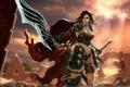 Картинка девушка, воительница, Legacy of Edem