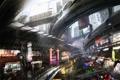Картинка город, будущее, рисунок