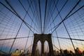 Картинка США, USA, Штат Нью-Йорк, State of New York, Нью-Йорк, Бруклинский мост, Brooklyn Bridge