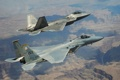 Картинка Raptor, F-22, F-15, истребители, полёт, Eagle