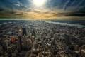 Картинка город, здания, небоскребы, USA, New York, NYC