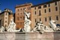 Картинка дома, Рим, Италия, фонтан, Пьяцца Навона