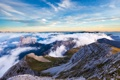 Картинка облака, горы, природа, вид, панорама