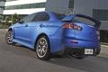 Картинка синий, Mitsubishi, Lancer, автомобиль, ракурс, задок, Evolution X