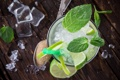 Картинка summer, cocktail, mint, lime
