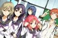 Картинка Game CG, Soushuu Senshinkan Gakuen Hachimyoujin, G Yuusuke, Tatsunobe Ayumi, Gadou Rinko, Sera Mizuki, Manase ...
