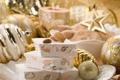 Картинка Рождество, орехи, миндаль, туррон, нуга, елочные, праздники