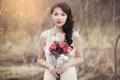 Картинка девушка, азиатка, невеста