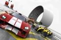 Картинка машины, гонка, скорость, трек, TrackMania