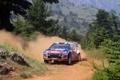 Картинка Лес, Поворот, Капот, Занос, Citroen, DS3, WRC