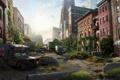 Картинка машины, город, апокалипсис, эпидемия, The Last of Us