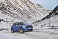 Картинка Зима, Горы, Синий, Снег, Mini Cooper, MINI, Мини Купер