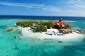 Картинка отель, Карибы, остров, бунгало, Ямайка, море