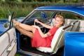 Картинка Model, Chevrolet Impala SS, Lady CherryKiss
