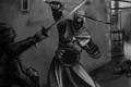 Картинка оружие, бой, assassins creed, страж, альтаир, altair