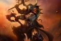Картинка metal, Diablo 3, Diablo, helmet, Barbarian, Armor, axes
