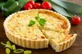 Картинка пирог, выпечка, листья петрушки