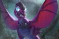 Картинка дракон, карта, существо, арт, WoW, World of Warcraft, няшка