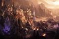 Картинка город, League of Legends, dominion