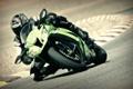 Картинка Фото, Байк, Мотоцикл, Гонщик, Трасса, Kawasaki, Кавасаки