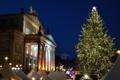 Картинка Германия, площадь, Рождество, Берлин, ярмарка, Жандарменмаркт